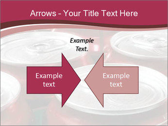 Soda pop cans PowerPoint Template - Slide 90