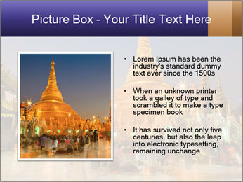 Twilight over Swedagon PowerPoint Template - Slide 13