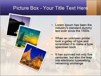 Twilight over Swedagon PowerPoint Template - Slide 17