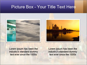 Twilight over Swedagon PowerPoint Template - Slide 18