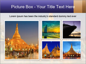 Twilight over Swedagon PowerPoint Template - Slide 19