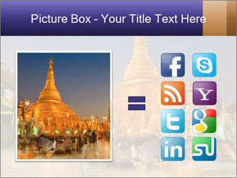 Twilight over Swedagon PowerPoint Template - Slide 21