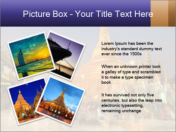 Twilight over Swedagon PowerPoint Template - Slide 23
