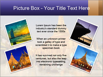 Twilight over Swedagon PowerPoint Template - Slide 24