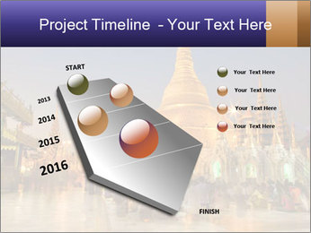 Twilight over Swedagon PowerPoint Template - Slide 26