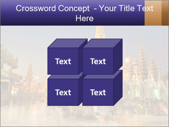 Twilight over Swedagon PowerPoint Template - Slide 39