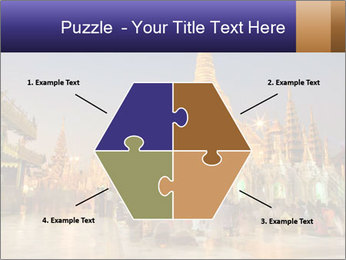 Twilight over Swedagon PowerPoint Template - Slide 40