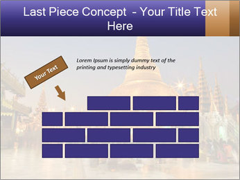 Twilight over Swedagon PowerPoint Template - Slide 46