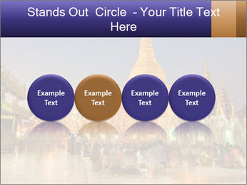 Twilight over Swedagon PowerPoint Template - Slide 76
