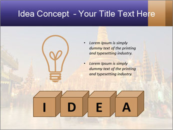 Twilight over Swedagon PowerPoint Template - Slide 80