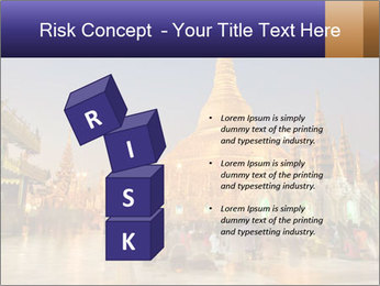 Twilight over Swedagon PowerPoint Template - Slide 81