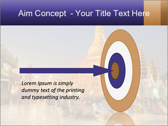Twilight over Swedagon PowerPoint Template - Slide 83