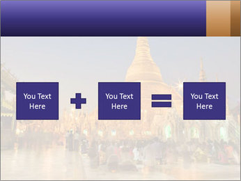 Twilight over Swedagon PowerPoint Template - Slide 95