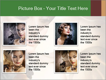 Luxury Woman PowerPoint Template - Slide 14