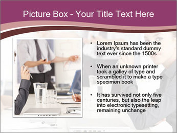 Attractive female PowerPoint Template - Slide 13