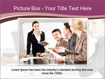Attractive female PowerPoint Template - Slide 15