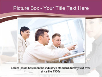 Attractive female PowerPoint Template - Slide 16