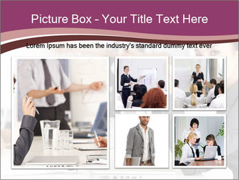 Attractive female PowerPoint Template - Slide 19