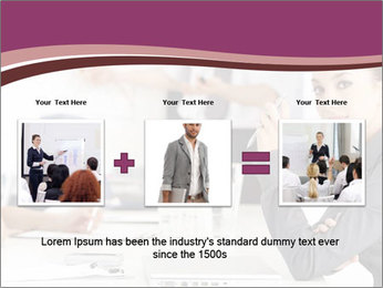 Attractive female PowerPoint Template - Slide 22