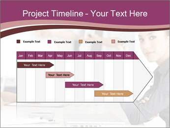 Attractive female PowerPoint Templates - Slide 25