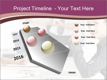 Attractive female PowerPoint Template - Slide 26