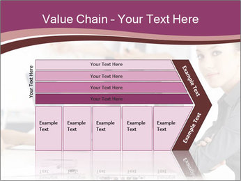Attractive female PowerPoint Templates - Slide 27