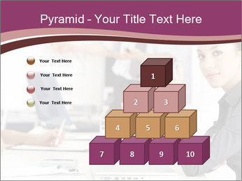 Attractive female PowerPoint Template - Slide 31