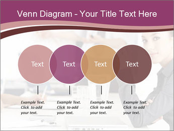 Attractive female PowerPoint Template - Slide 32