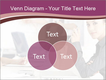 Attractive female PowerPoint Template - Slide 33