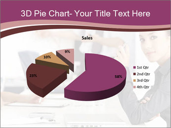 Attractive female PowerPoint Template - Slide 35