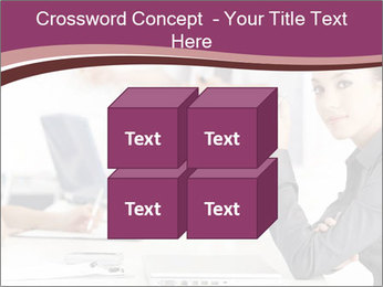 Attractive female PowerPoint Template - Slide 39