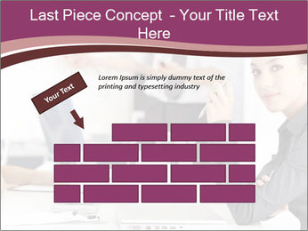 Attractive female PowerPoint Template - Slide 46