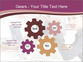 Attractive female PowerPoint Template - Slide 47