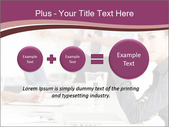 Attractive female PowerPoint Template - Slide 75