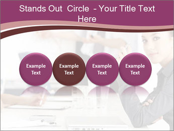 Attractive female PowerPoint Template - Slide 76