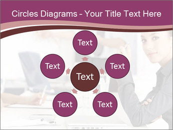 Attractive female PowerPoint Template - Slide 78