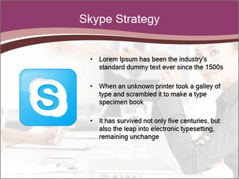 Attractive female PowerPoint Template - Slide 8
