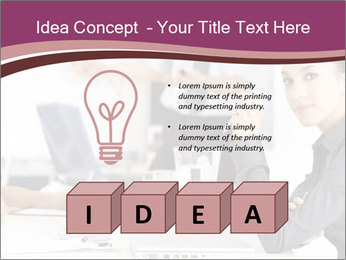 Attractive female PowerPoint Template - Slide 80