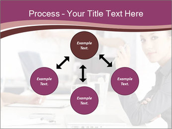 Attractive female PowerPoint Template - Slide 91