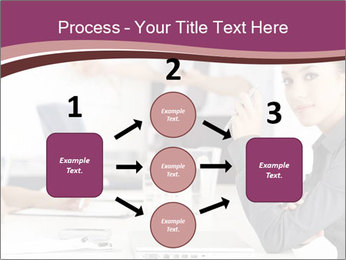 Attractive female PowerPoint Template - Slide 92