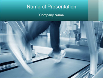 Running PowerPoint Template