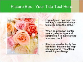 Wedding bouquet PowerPoint Templates - Slide 13