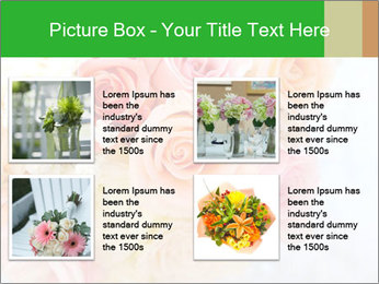 Wedding bouquet PowerPoint Templates - Slide 14