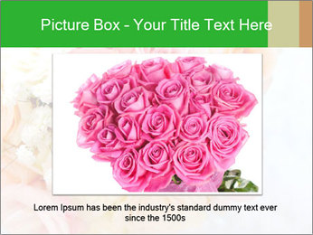 Wedding bouquet PowerPoint Templates - Slide 15