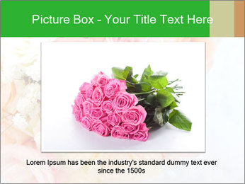 Wedding bouquet PowerPoint Templates - Slide 16