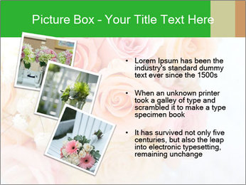 Wedding bouquet PowerPoint Templates - Slide 17