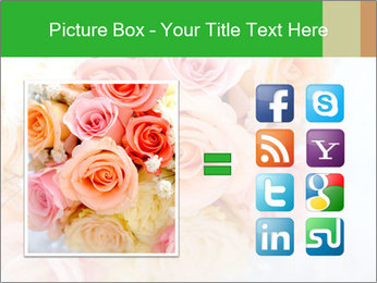 Wedding bouquet PowerPoint Templates - Slide 21