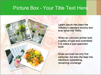 Wedding bouquet PowerPoint Templates - Slide 23
