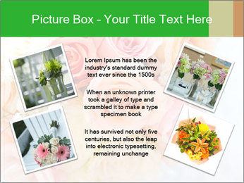 Wedding bouquet PowerPoint Templates - Slide 24