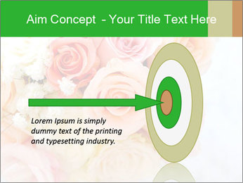 Wedding bouquet PowerPoint Templates - Slide 83